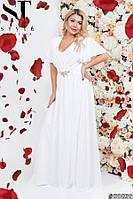Вечернее платье в греческом стиле больших размеров 50-52; 52-54