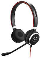 Проводная аудио гарнитура Jabra EVOLVE 40 MS Stereo (USB / 3.5мм)
