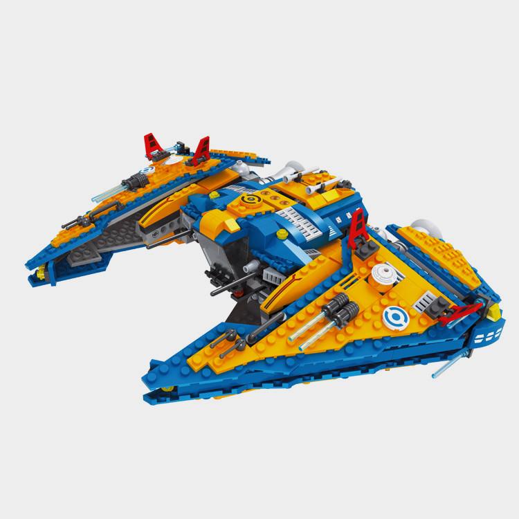 Детский конструктор Ausini Космический корабль 818 деталей