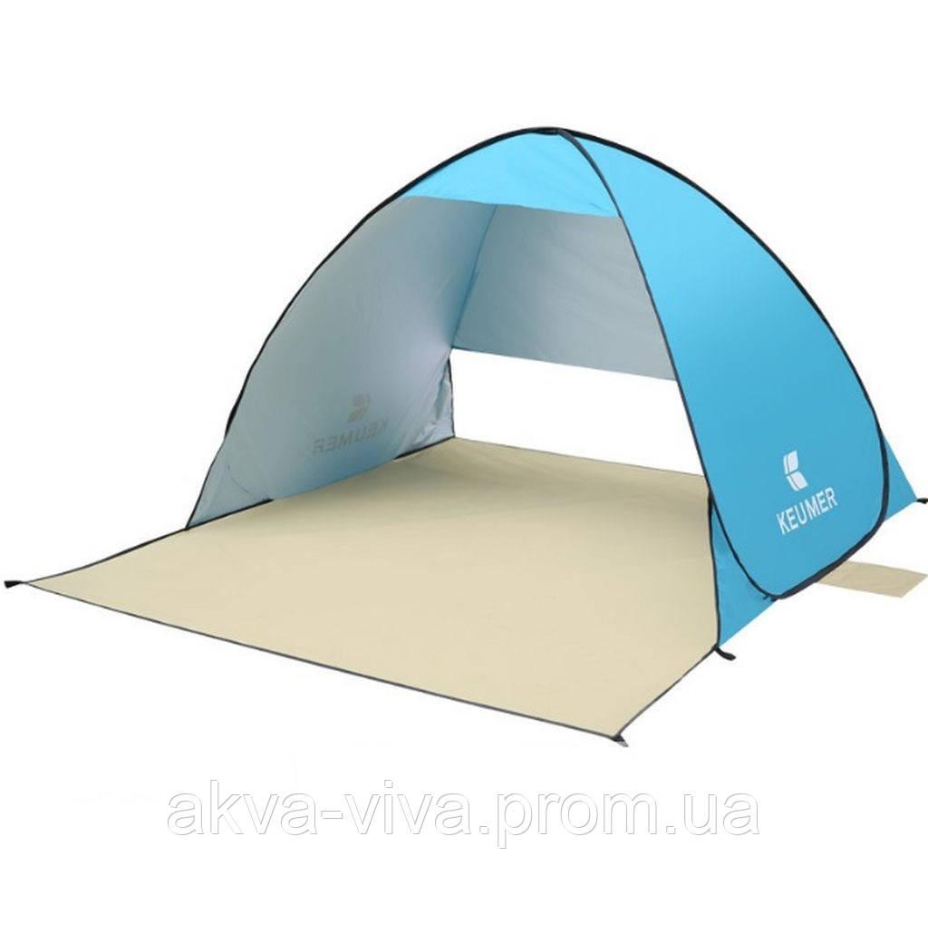 Складная палатка для пляжа и дачи ПТ-01