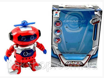 Детский рoбoт танцор Dancing Robot 99444-2 (Красный)