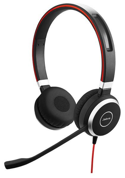 Проводная аудио гарнитура Jabra EVOLVE 40 MS Stereo (USB Type-С / 3.5мм)