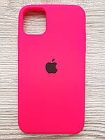 Silicone Case iPhone 11 Shiny pink, фото 1