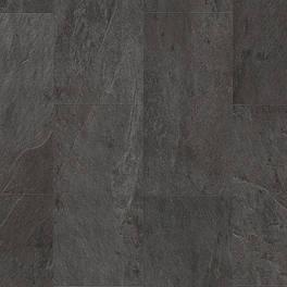 Вініловий ламінат Quick Step колекція Ambbient Click Plus 33 Декор Сланець чорний