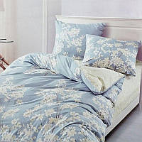 Евро комплект постельного белья Elway 5065 Tenderness