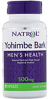 Йохимбин Natrol - Yohimbe Bark 500 мг (90 капсул)