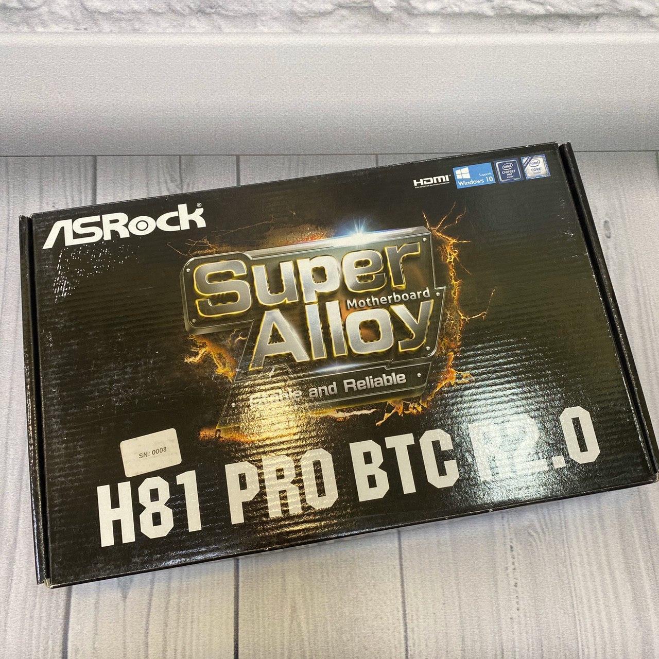 Материнская плата   (AsRock H 81 Pro BTS/s1150/ Intel H812 x DDR3/ATX)