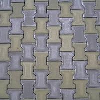 Тротуарная плитка (Двойное Т) 8см
