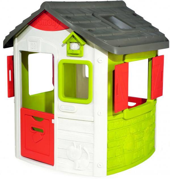 Домик лесничего Smoby Toys Нео со ставнями (810500)