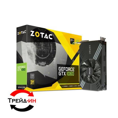 Zotac GTX 1060 6Gb Mini (ZT-P10600A-10L), б/у