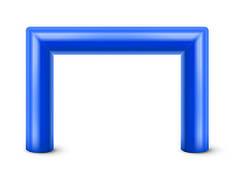Надувная арка 5х4 м.