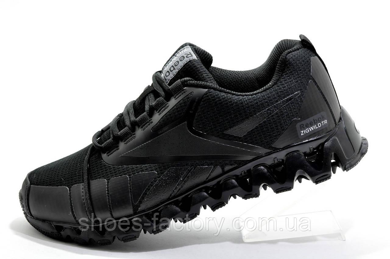 Мужские кроссовки в стиле Reebok ZigWild, Black