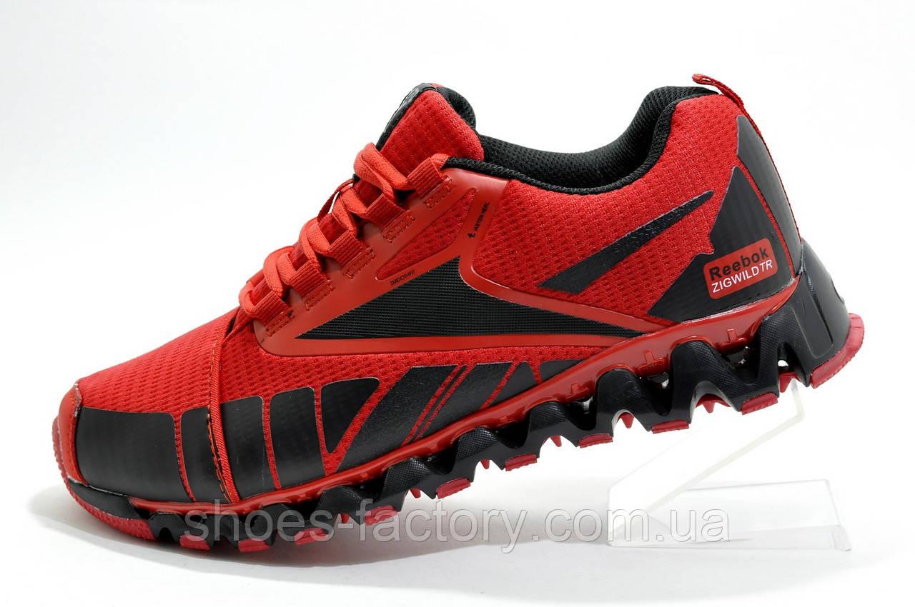 Мужские кроссовки в стиле Reebok ZigWild, Red\Black
