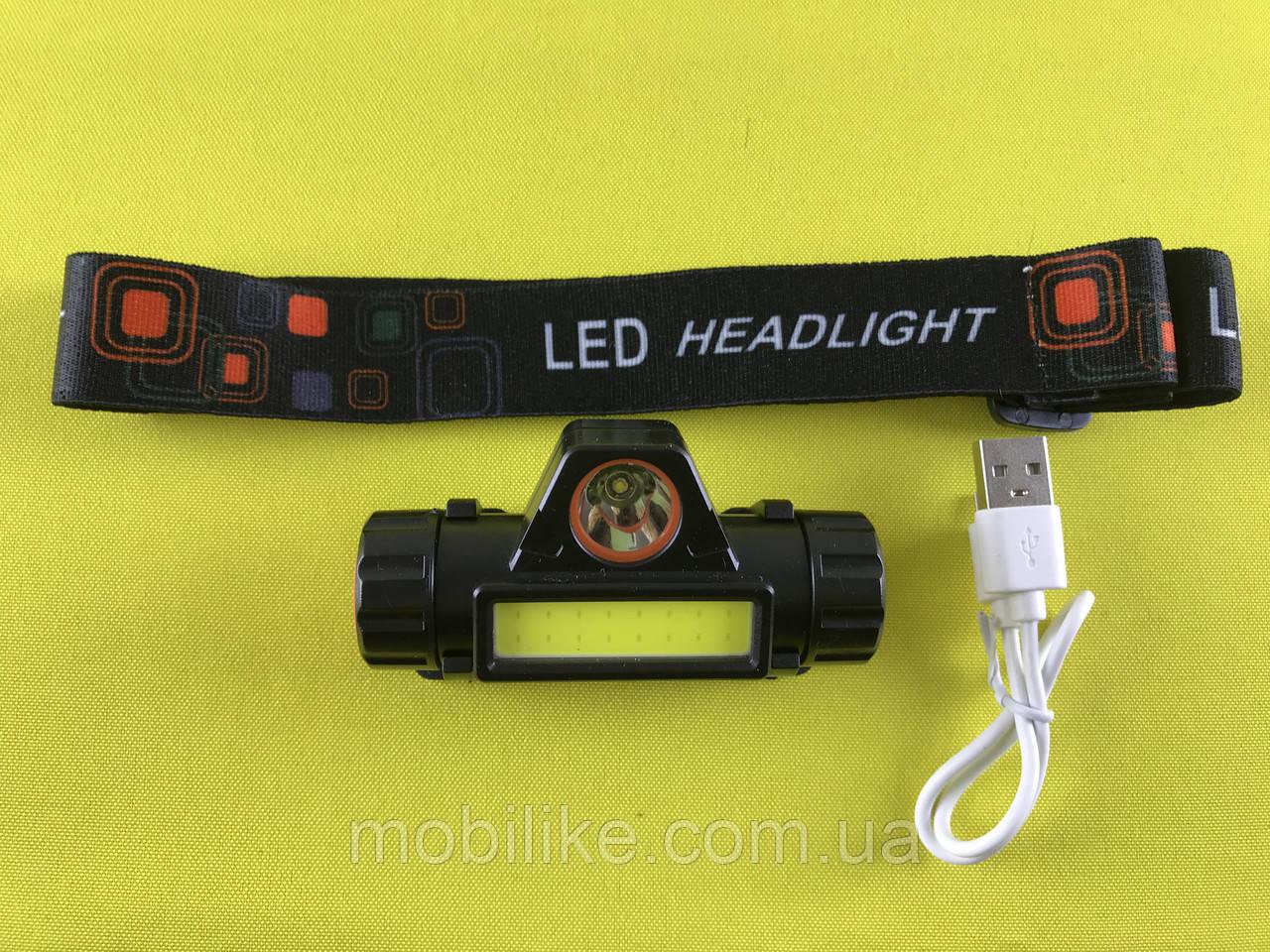 Налобный спец фонарик Bailong Police BL-101B-T6