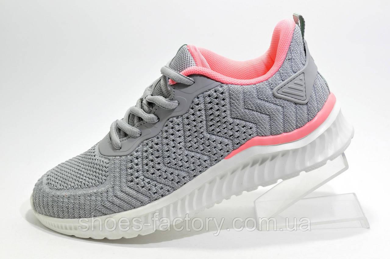 Женские кроссовки Baas Running, Gray\Pink