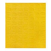 Самоклеюча декоративна 3D панель під жовта цегла 700х770х7мм Os-BG10