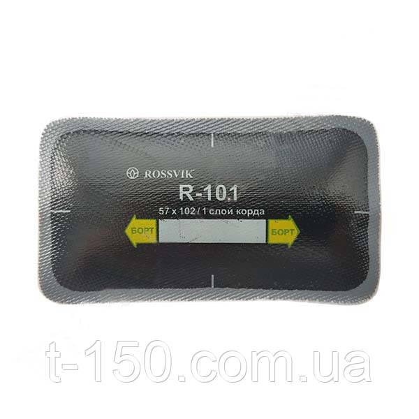 Пластырь радиальный 057х102мм (1 слоя корда)