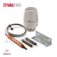 Термоголовка с накладным датчиком Valtec 2 м. (20-60 °С) накладка на трубу (VT.5012.0) Италия