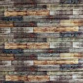 Самоклеюча декоративна 3D панель бамбук мікс 700х700х8мм
