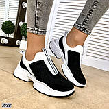 Жіночі кросівки сліпони з перфорацією з натуральної замші теракотові, білі, чорні, фото 2