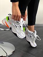 Мужские кроссовки Nike M2K Tekno Pure Platinum Black Sail White