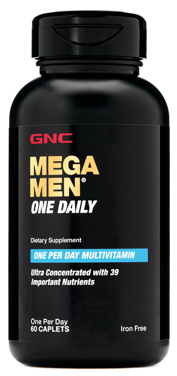Mega Men One Daily GNC (60 таб.)