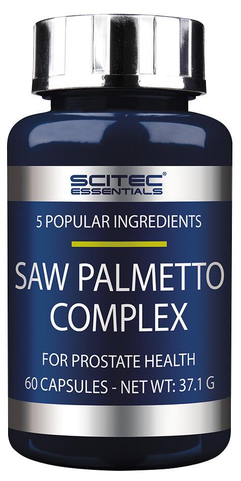 Saw Palmetto Complex Scitec Essentials (60 капс.)