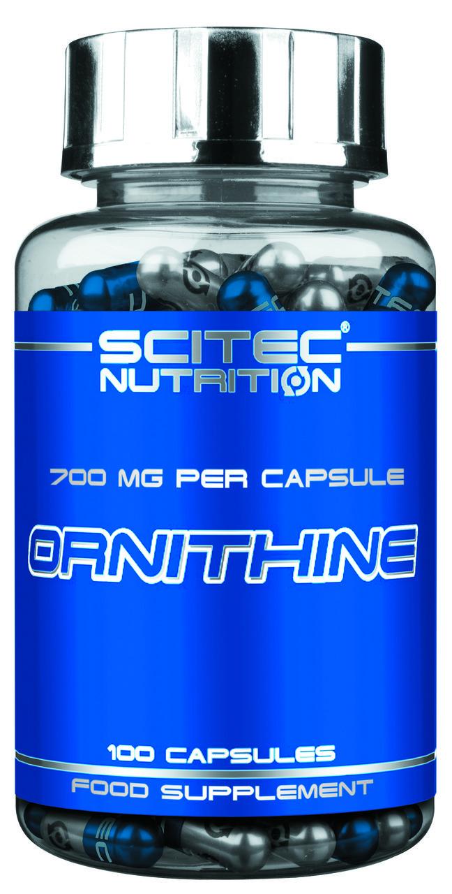 L-Ornithine Amino Acid Scitec Nutrition (100 капс.)