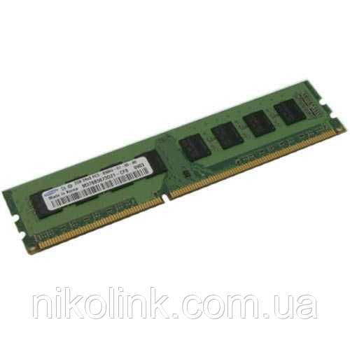 Память Samsung DDR3 2GB PC3-8500E (1066Mhz) (M391B5673EH1)(8x2), б/у