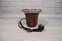 Домашній шоколадний фонтан для фондю Mini Chocolate Fountain Fondue, фото 4