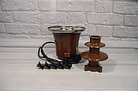 Домашній шоколадний фонтан для фондю Mini Chocolate Fountain Fondue, фото 5