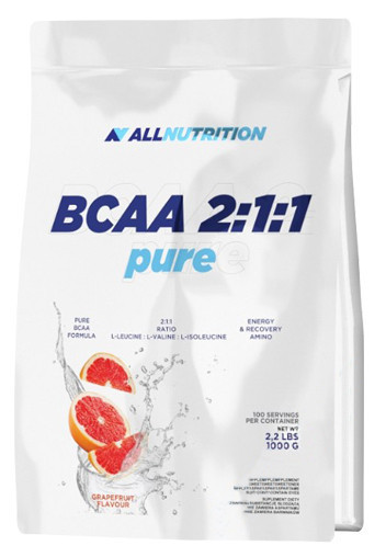 BCAA 2:1:1 Pure All Nutrition (1000 гр.)