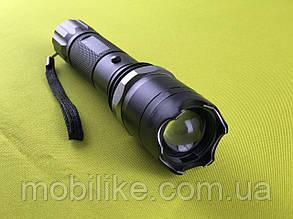 Функциональный качественный фонарь  с отпугивателем Police T10