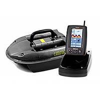 Кораблик для прикормки Сarpboat Mini Carbon + Эхолот TF640 GPS
