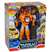 Трансформер Тобот Титан 504 Робот трансформер Титан 2 в 1 TOBOT, Большой, 31 см