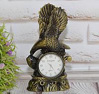 Настольные часы с зажигалкой Орёл бизнес подарок, фото 1