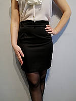 Изысканная женская мини юбка черного цвета Khan Collection Размер 42, 44, 46