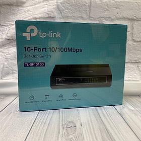 Коммутатор TR-Link (16x100 Mb/s)