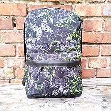 Рюкзак 42х30 см, дно кожзам