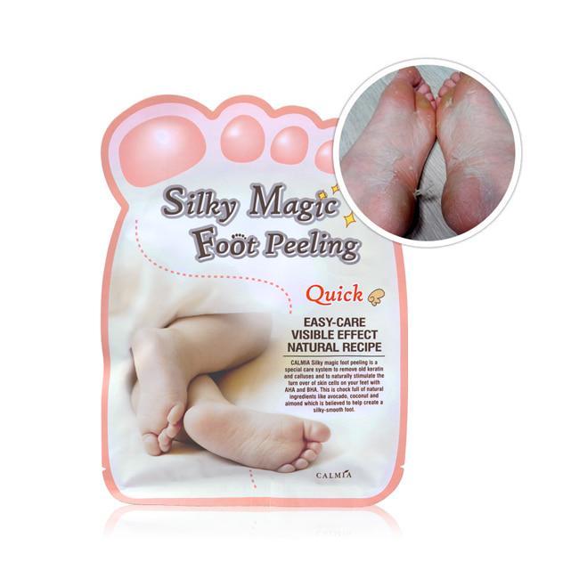Кислотний пілінг для ніг Calmia Silky Magic Foot Peeling Type Quick 50 g