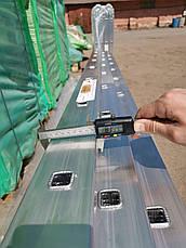 Алюминиевая лестница трехсекционная универсальная 3 х 10 ступеней, фото 3