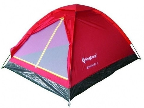 Палатка KingCamp Monodome 2(KT3016) (red)