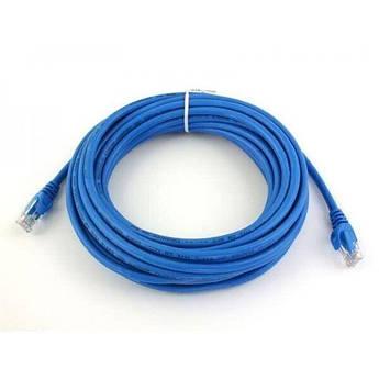 Патч-корд Atcom CAT5e RJ45 UTP 7.5 м Синий