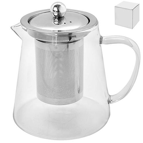 Заварочный чайник с ситом 750мл стекло