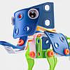 Детский мягкий конструктор Keedo Слоник 59 деталей, фото 3