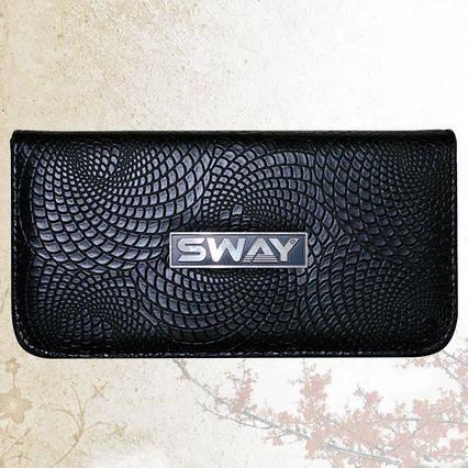 Чехол для 2-х ножниц Sway  Black Snake Small