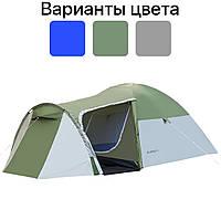 Палатка туристическая четырехместная 3000 мм Acamper MONSUN 4 кемпинговая, фото 1