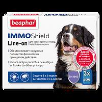 Краплі Beaphar Immo Shield Line-On (краплі від бліх, кліщів і комарів) для собак 30-50кг (1 піпетка)