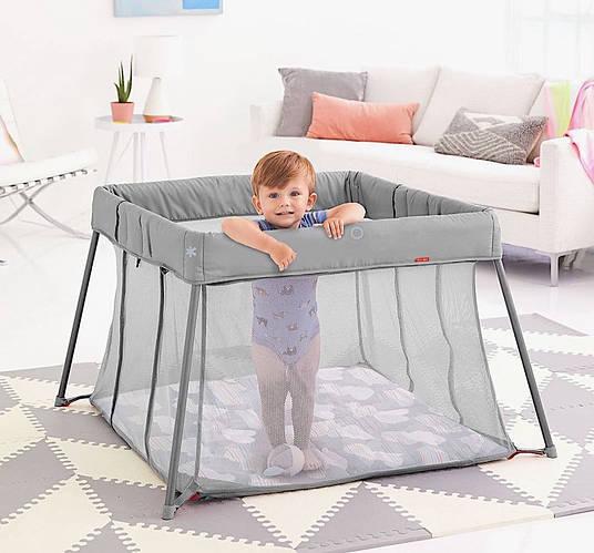Уже завтра это практичный и стильный манеж-кроватка может отправится к Вам !