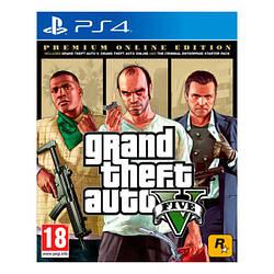 Гра Sony PS4 GTA V Premium Online Edition (російські субтитри)
